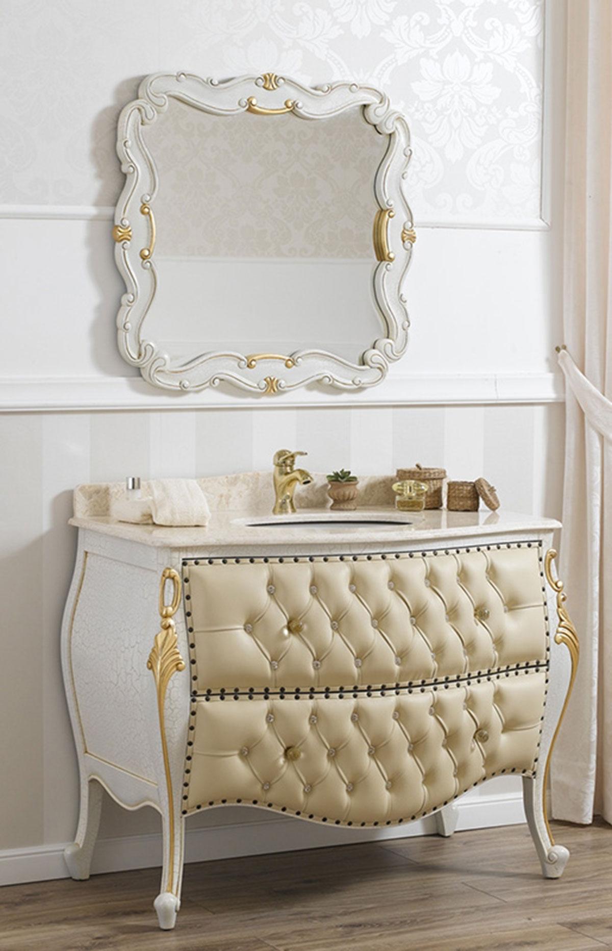 Como e specchio ramirez stile barocco veneziano arredo for Arredo bagno provincia como